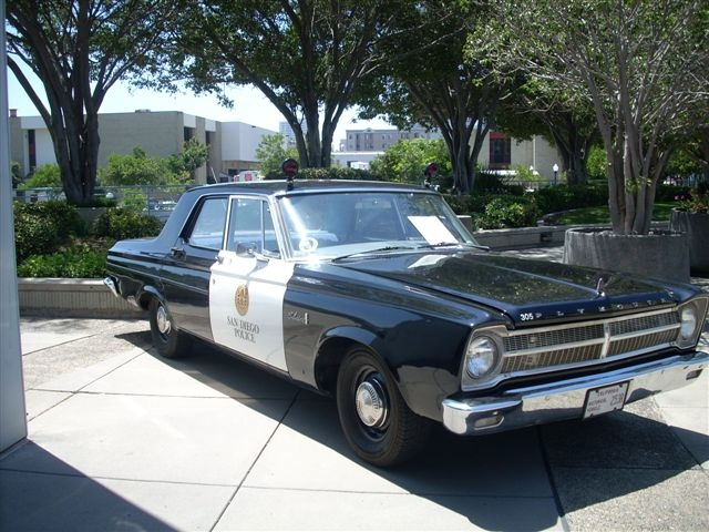 1965 Plymouth Patrol Car